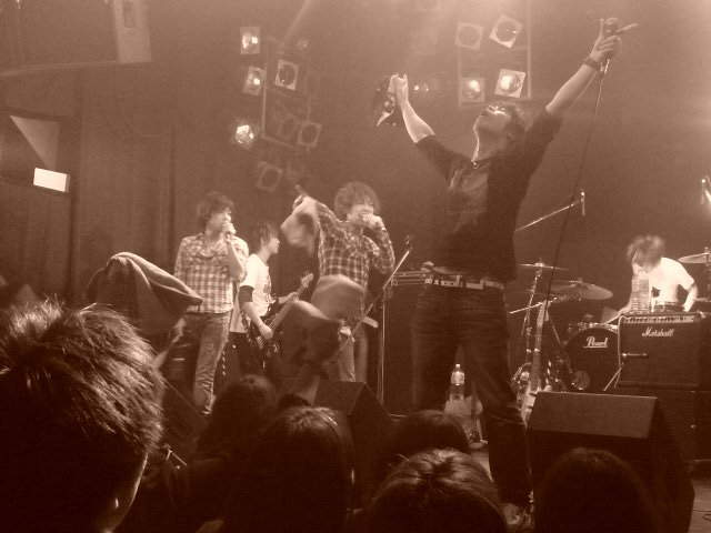 2010バンドエイト福岡ライブ